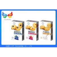 China Promotional Paper Christmas Cookie Gift Boxes , Takeaway Biscuit Packaging Boxes on sale