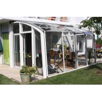 Buy cheap Retractable Sunroom, Patio Enclosures, Plastic Sun Rooms, Glass House, Screen Sunroom from wholesalers
