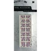 Buy cheap Eco - friendly Ink Pretty nontoxic silk - screen French Tip creative nail design Stickers product