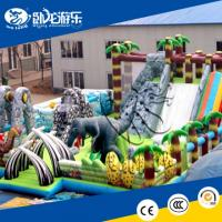Buy cheap Colorful inflatable bouncer and slide combo inflatable jumping castle combo from wholesalers