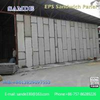 Buy cheap Light weight roofing material glass fiber reinforced concrete sandwich wall panel from wholesalers