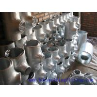 Buy cheap 1-48 inch Seamless / weld Stainless Steel Pipe Tee ASTM A234 WPB WPC from wholesalers