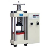 Buy cheap 1000KN 2000kN Digital Hydraulic Concrete Compression Testing Machine from wholesalers