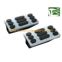 Buy cheap GN125 Footrest Suzuki Motorcycle Parts / Rubber motorcycle pedal , Black from wholesalers