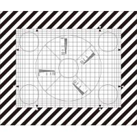 Buy cheap SineImage NJ-10-100A Reflective/Transparent Grid Test Chart  for operational adjustment and control of TV cameras product