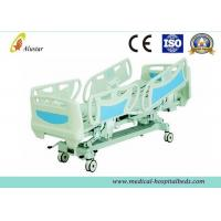 Buy cheap ABS Adjustable Coated Steel Frame Hospital Electric Beds, ICU Bed With Soft Joint (ALS-E513) from wholesalers
