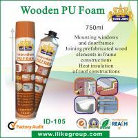 750ml Manual Pu Foam Insulation Spray / Seals For Bonding , Soundproofing