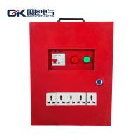 Red Electrical Distribution Box / Job Site Electrical Power Distribution Board