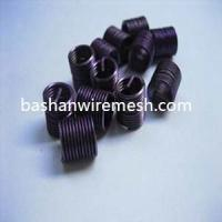 Buy cheap 300 series High Strength Standard Tolearance Color Thread Inserts by bashan from wholesalers
