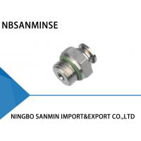 Buy cheap Professional SSC-G Pneumatic Tube Fittings Air Line Connectors M5 - M6 Thread from wholesalers