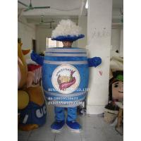 Buy cheap beer barrel mascot costume/customized fur product replicated mascot costume from wholesalers