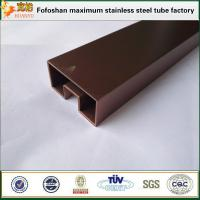 Buy cheap 316 Colored Single Stainless Steel Slot Pipe/Tube from wholesalers