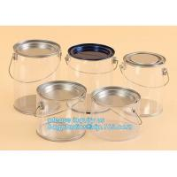 Buy cheap aluminum tin aluminum container jar with clear window top aluminum cans with screw lid for cosmetic/food bagplastics pac from wholesalers