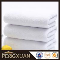 Buy cheap 21s/2 embroidery and jacquard towels hotel white hand towels for sale with 100% cotton PXFT2 from wholesalers