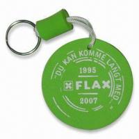 Buy cheap Eco-friendly EVA Floating Keychain with Customized Designs for Promotional Purpose product