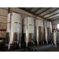 Buy cheap Single Wall 3mm Fruit Wine Fermentation Tank , Wine Fermenting Equipment from wholesalers