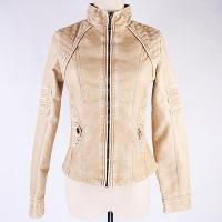 Buy cheap Pu Leather Jacket For Women 810# from wholesalers