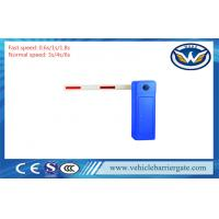 Buy cheap Blue Remote Control Traffic Barrier Gate , Auto Closing Electric Boom Gates With RS485 from wholesalers