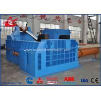 Buy cheap Heavy Duty Scrap Metal Baler Hydraulic Car Bodies Baling Press 90kW Motor Power product