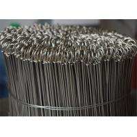 Buy cheap Looped Bar Tie Galvanized Iron Wire , Low Carton Steel 12 Gauge Galvanized Wire from wholesalers