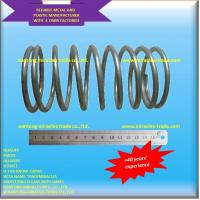 Buy cheap 6MM high strength long life spring steel auto compression spring from wholesalers
