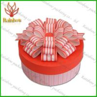 China Pink and Orange Colorful Gift Box Paper Box Packaging Recycable Paper Box on sale
