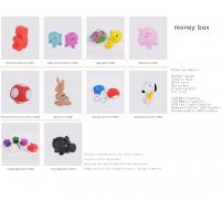Buy cheap Phthalate free Material, CE, EN71 standard, hardness can be adjustable,high quality coin bank from wholesalers