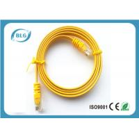 Buy cheap RJ45 CAT6 Flat Jumper Cable Copper 2M For PC Mac Laptop / Modem / Router / PC from wholesalers