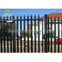 Buy cheap 2.4m Height Galvanised Steel Palisade Fencing With  Powder Coating Finished from wholesalers