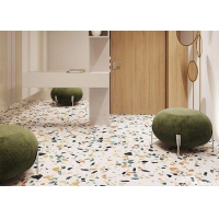 Buy cheap 300*300mm 800*800mm Terrazzo Ceramic Tile For Reception Desk Countertop from wholesalers