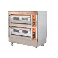 Buy cheap QL-4A Two Deck Gas Oven / Commercial Electric Baking Ovens With Automatic Protection Devices from wholesalers