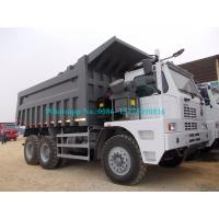 Buy cheap Sinotruck HOWO mining dump truck 70tons 6*4 371HP off road tipper truck ZZ5707S3840AJ from wholesalers