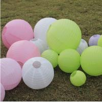 Buy cheap Chinese Wholesale Round Paper Lantern Wholesale for Party Decoration Wedding decoration from wholesalers