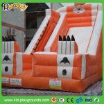 Buy cheap inflatable slide with jump,tarpaulin inflatable slide,multiplay inflatable sliding from wholesalers