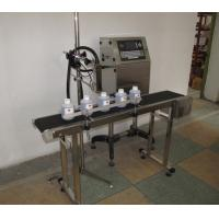 Buy cheap Industrial Changable Serials Number CIJ Inkjet Printer , Water Bottle Date Printing Machine from wholesalers