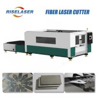 Buy cheap 2000W/3000W Metal Fiber Laser Cutting Machine AC380V  Cypcut Control System from wholesalers