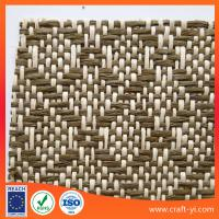 Buy cheap Woven Paper Fabrics Weaving is a method of textile in ecofriendly material from wholesalers