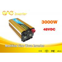 Buy cheap Dc To Ac Modified Sine Wave Car Power Inverter 3000w 12v/24v 220v Portable Generator Inverter from wholesalers