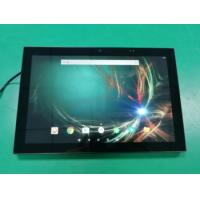 Buy cheap Big Screen Size 10 Wall mount Android capacitive touch panel with LED NFC reader for meeting Room Schedule from wholesalers