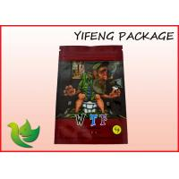 Buy cheap Stand Up Aluminium Foil Lined Bag Heat Sealed For Herbal Incense Packaging from wholesalers