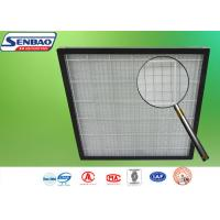 Buy cheap Pleated Pre Air Conditioning Air Filters 595 x 595 x 46mm G3 / G4 Panel from wholesalers