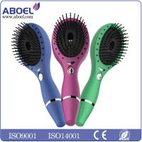 Buy cheap Rechargeable Vibration Electric Hair Brush With USB Cable Charging from wholesalers