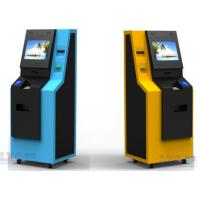 Buy cheap 17'' Automatic Parking  automated ticket kiosk / Kiosk On Wheels from wholesalers
