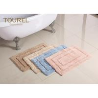 Buy cheap Thick And Big Plush Bathroom Rugs / Hotel Washable Bath Mat from wholesalers