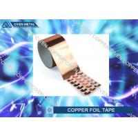 Buy cheap Die Cutting Copper insulation tape Roll FOR Electromagnetic Shielding from wholesalers
