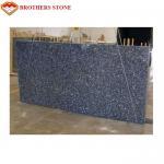 Buy cheap Custom Size Polished Granite Stone , Norwegian Blue Pearl Granite Slabs Tiles from wholesalers