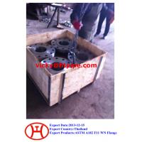 Buy cheap ASTM A182 F11 WN flange from wholesalers