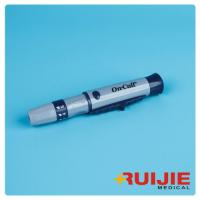 Buy cheap blood lancet white color Plastic material Safety pen type  blood lancing device from wholesalers