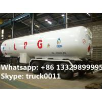 Buy cheap factory price CLW bulk lpg gas trailer for sale, high quality with best price gas cooking propane tanker tailer for sale from wholesalers