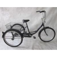 Buy cheap 24 single speed steel tricycle from wholesalers